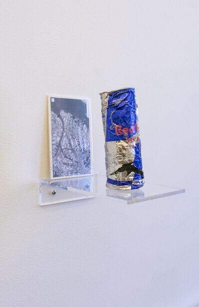 Nobutaka Aozaki, 'Street Can: Red Bull (12 fl oz) (03/10/2014 Long Island City, Queens)', 2014