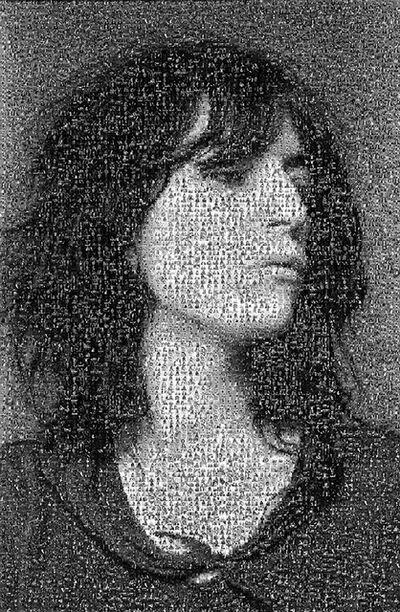 Lynn Goldsmith, 'Patti Smith Mosaic', 1970-1980
