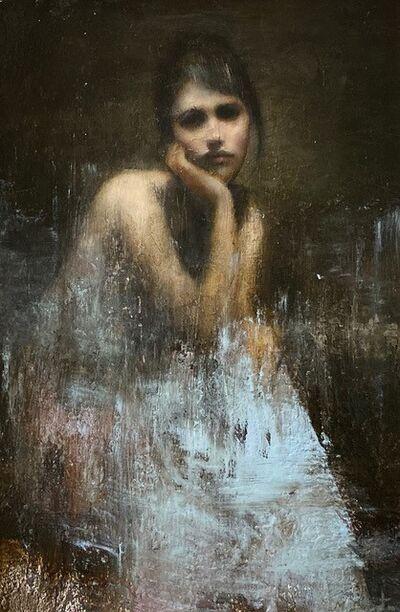 Mark Demsteader (b.1963), 'Hannah Seated'