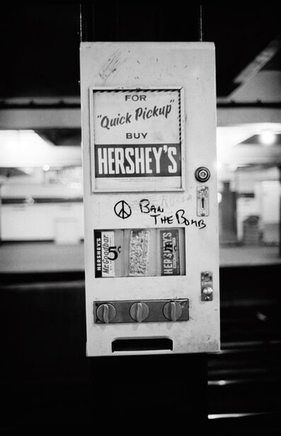 Jim Marshall, 'Peace Hershey's, New York', 1962