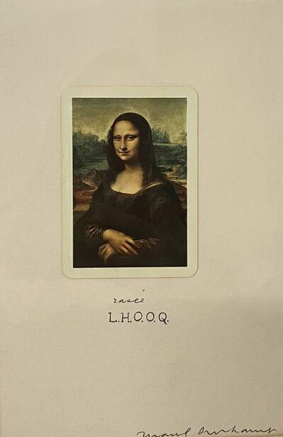 Marcel Duchamp, 'L.H.O.O.Q Rasée', 1965