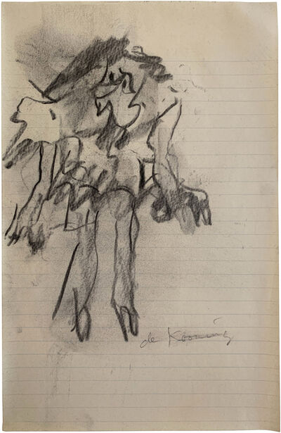 Willem de Kooning, 'Standing Woman', 1965-1967