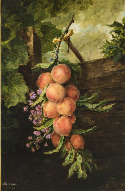 Lilly Martin Spencer, 'Still Life with Peaches', 1891
