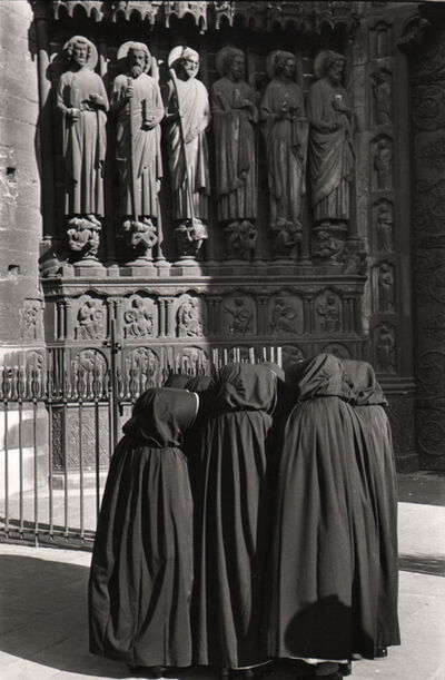 Marc Riboud, 'Nuns in front of Notre-Dame, Paris', 1953