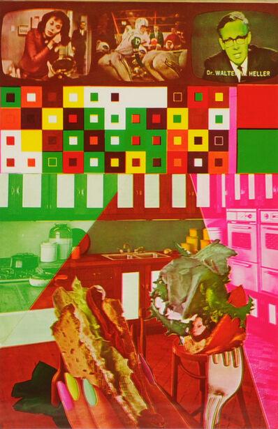 Eduardo Paolozzi, 'Calling Radio Free America', 1965-1970
