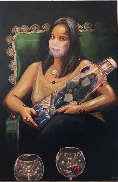 Shurooq Amin, 'She's Got Mona Lisa Eyes', 2019