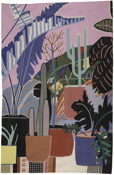 Mary Finlayson, 'Pink Room with Palm ', 2019