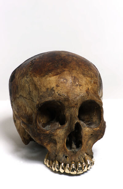 Sarah Lucas, 'Skull', 2000