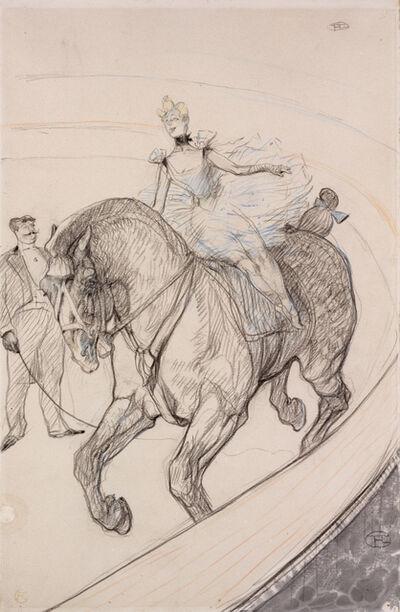 Henri de Toulouse-Lautrec, 'At the Circus: Bareback', 1899