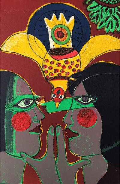 Guillaume Corneille, ' Les profils', 1980