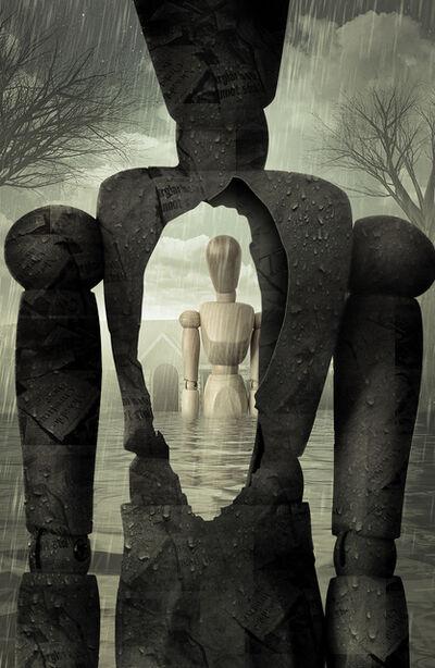 Lisa Carney, 'Paper Maché Man', 2018