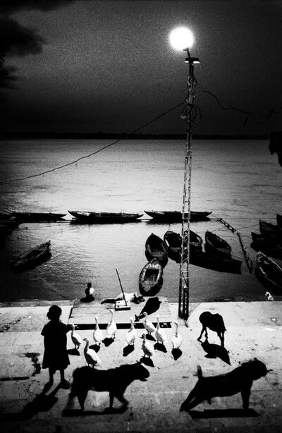 Sohrab Hura, ' Early morning in Benares, India', 2005
