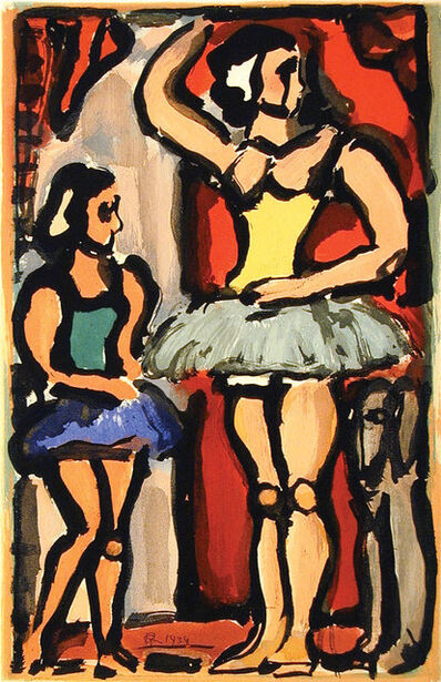 Georges Rouault, 'The Ballerinas', 1934