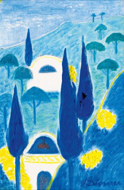 Gerhild Diesner, 'Cypresses on the Algarve', ca. 1965
