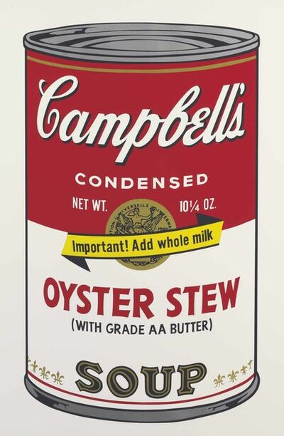 Andy Warhol, 'Oyster Stew, from Campbell's Soup II', 1969