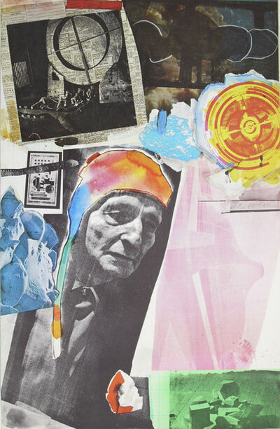 Robert Rauschenberg, 'Homage to Frederick Kiesler - 1966', 1966