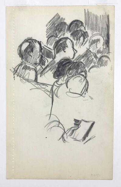 Julius Bloch, 'Theater Audience', 1929