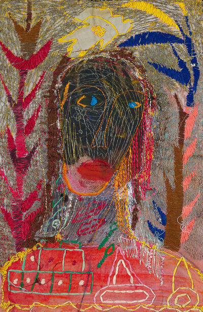 Alice Kettle, 'Lady and Trees', 2020