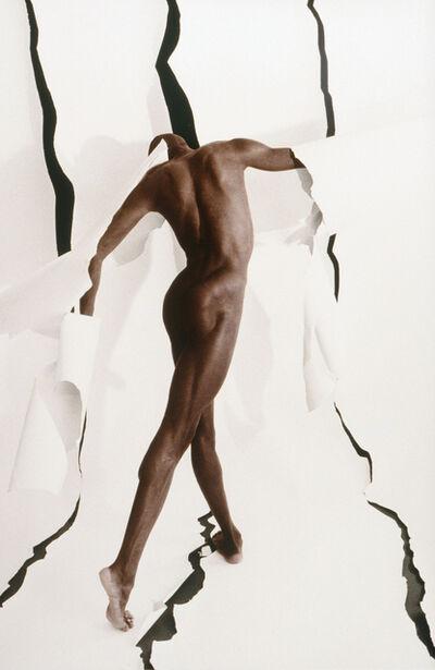 Lynn Bianchi, 'Nyeja with Black Lines', 1983