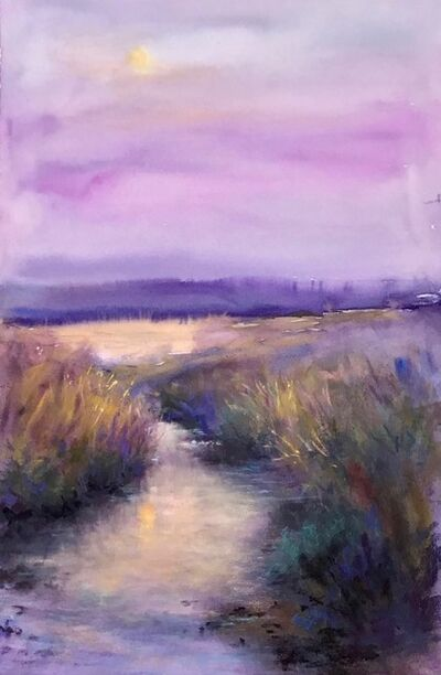 Georgette Sinclair, 'Evening by the Marshes', 2021