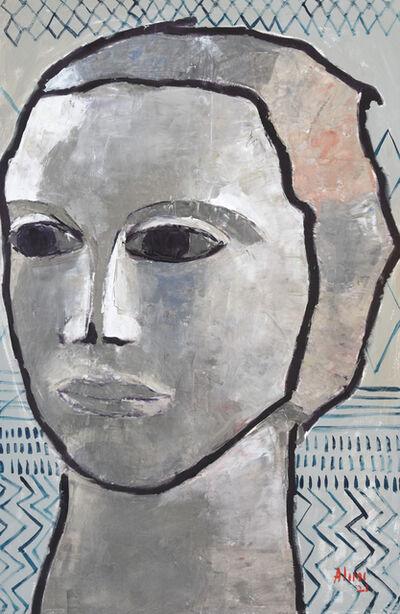 Alimi Adewale, 'A gaze into the past II', 2021