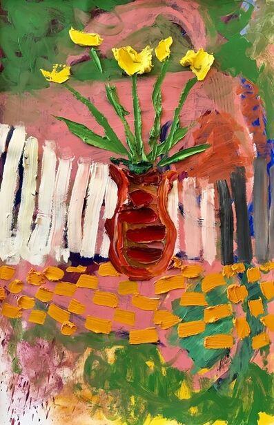 Darius Yektai, 'Red Vase', 2019