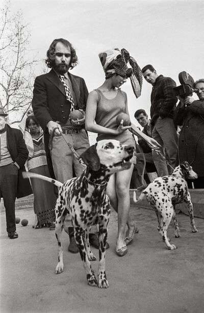 Larry Fink, 'Fashion Shoot, New York', 1966