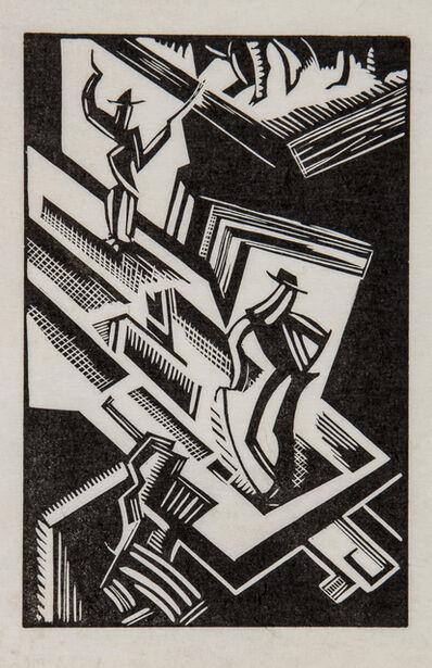 Edward Wadsworth, 'Theatre', 1919-1920