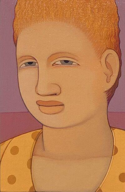 Andrew Stevovich, 'Portrait: Yellow Dress', 1991
