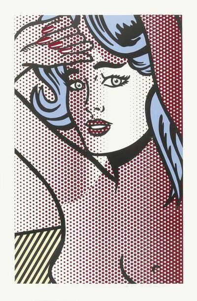 Roy Lichtenstein, 'Nude with Blue Hair', 1994
