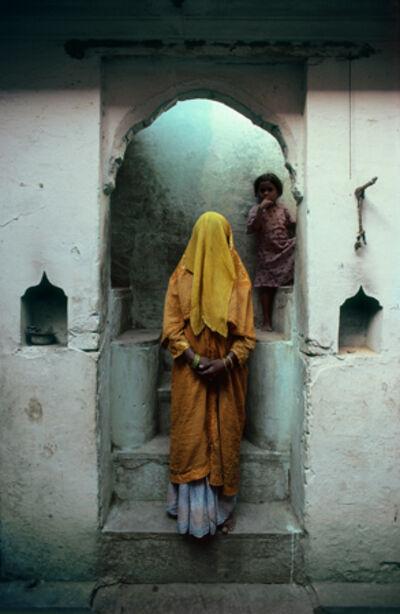 Cary Wolinsky, 'Phurdah, Varanasi, India', 1982