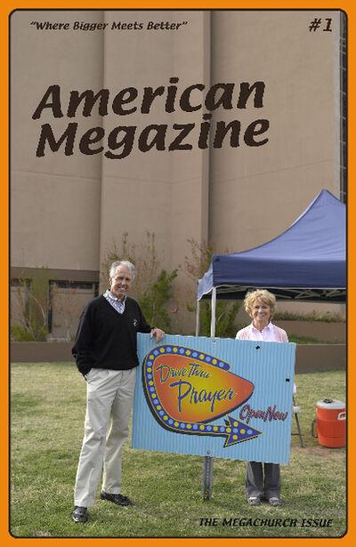 Lisa Anne Auerbach, 'American Megazine #1', 2013