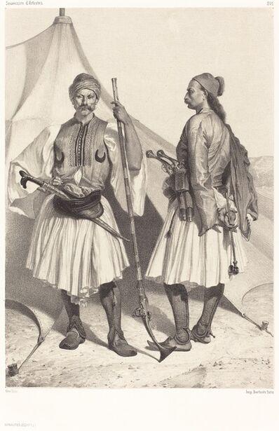 Alexandre Bida, 'Arnautes, Égypte (Albanians, Egypt)'