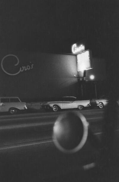 Robert Frank, 'Ciro's Nightclub, Los Angeles', 1955