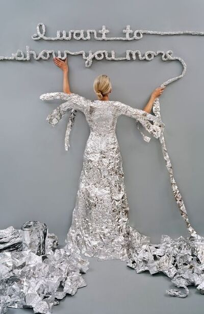 Rachel Perry, 'Lost in My Life (Tin Foil)', 2012