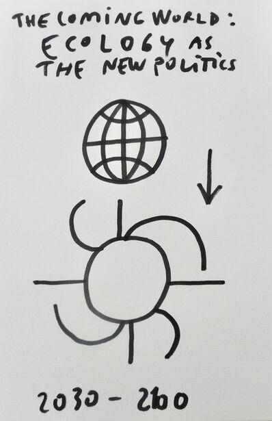 Dan Perjovschi, 'No Plan (For the Coming World)', 2019
