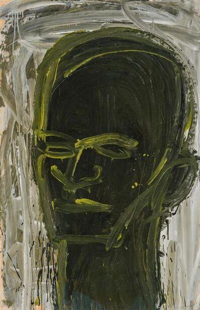 Lester Johnson, 'Head', 1961