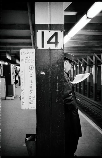 Jim Marshall, 'Peace or Pieces, New York Subway', 1962