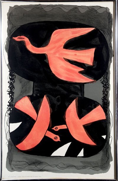 Georges Braque, 'Three Birds', circa 1960