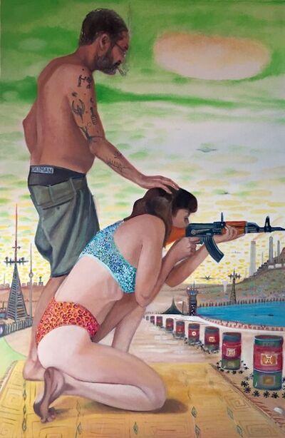 Zamir Shatz, 'AK47 Shooting Training', 2017
