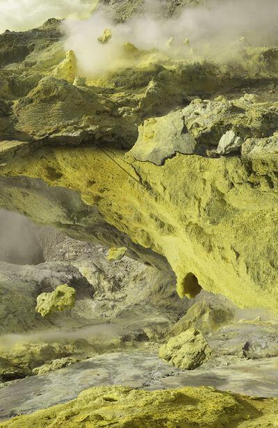 Michael Najjar, 'volcanic resublimation', 2018