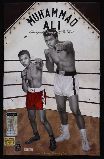 Jules Arthur, 'Ali and Young Cassius Clay', 2019