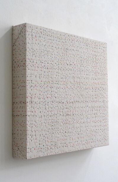 Beat Zoderer, 'Ohne Titel (Indische Stickerei)', 1996
