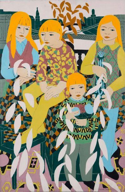 Norman Gilbert, 'Children and Bridges', 1969