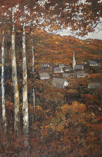 Eric Sloane, 'Autumn Village', ca. 1968-1970s