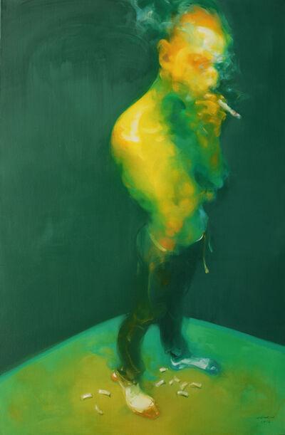Wu Jianjun, 'Man Smoking', 2016