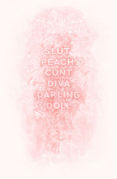 Amanda Manitach, 'Slut Peach Cunt Diva Darling Doll', 2017