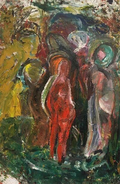 Erland Cullberg, 'Röd figur bland andra', 2007