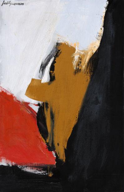José Guerrero (b. 1914), 'Andalucía, rojo y negro', 1964