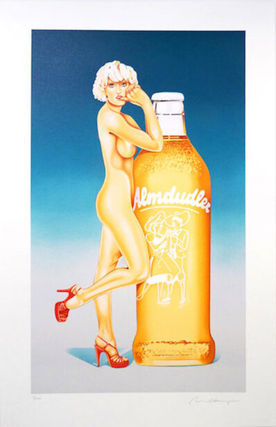 Mel Ramos, 'Fabulous Blonde - Almdudler', 2017